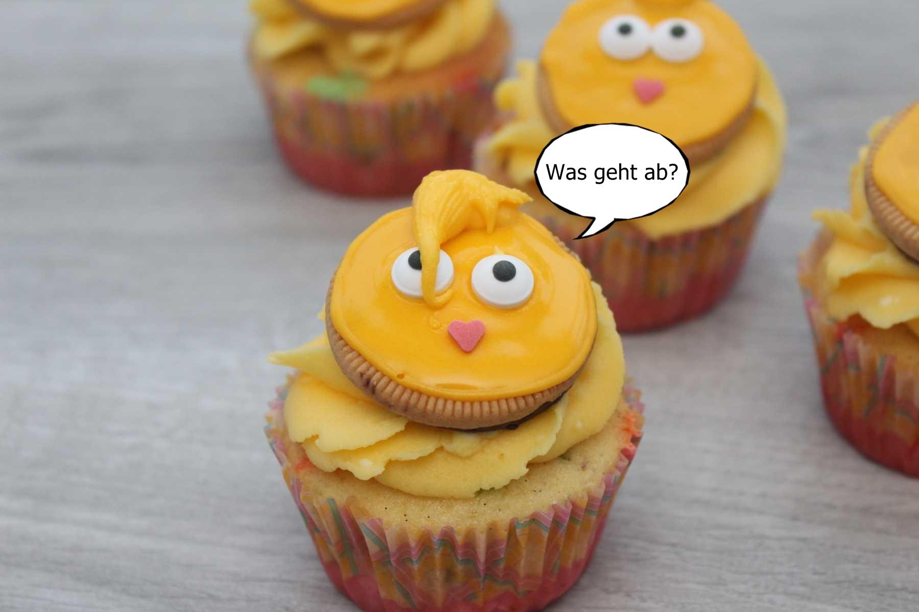 k ken cupcakes eine idee f r ostern muffin queen. Black Bedroom Furniture Sets. Home Design Ideas